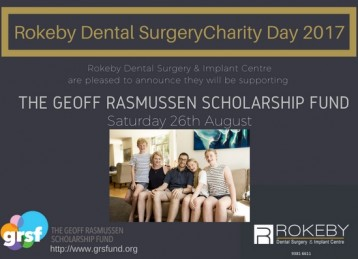 The Geoff Rasmussen Scholarship Fund - Annual Charity Day